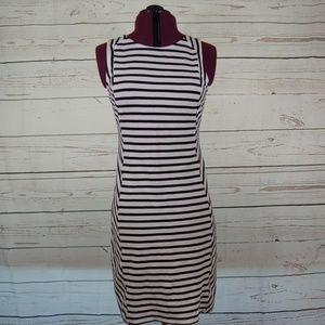Old Navy knit stripe dress size M